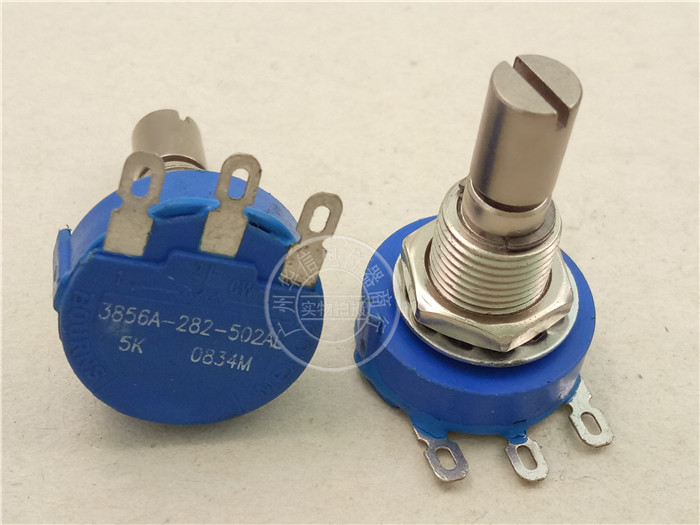 Original new 100% Mexico import 3856A-282-102AL 1K sealed single potentiometer axle diameter 6.4MM (SWITCH) все цены