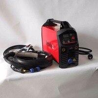 Профессиональная цифровая TIG 200A Импульсный сварочный аппарат Горячий старт HF зажигания Анти палки дуги сила CE инверторов IGBT сварщик оборуд