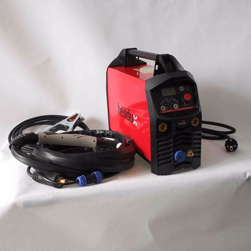 Professional Digital TIG 200A Pulse Welding Machine Hot Start HF Ignition Anti-Stick Arc-Force CE IGBT Inverter Welder Equipment