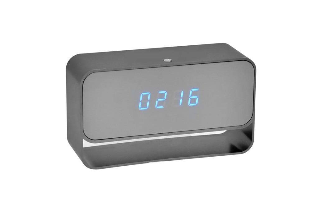 WIFI Mini Camera 1080P Time Alarm CCTV Home Security Clock Wireless Nanny IP Camera P2P IR light Night Vision Motion Detection (9)
