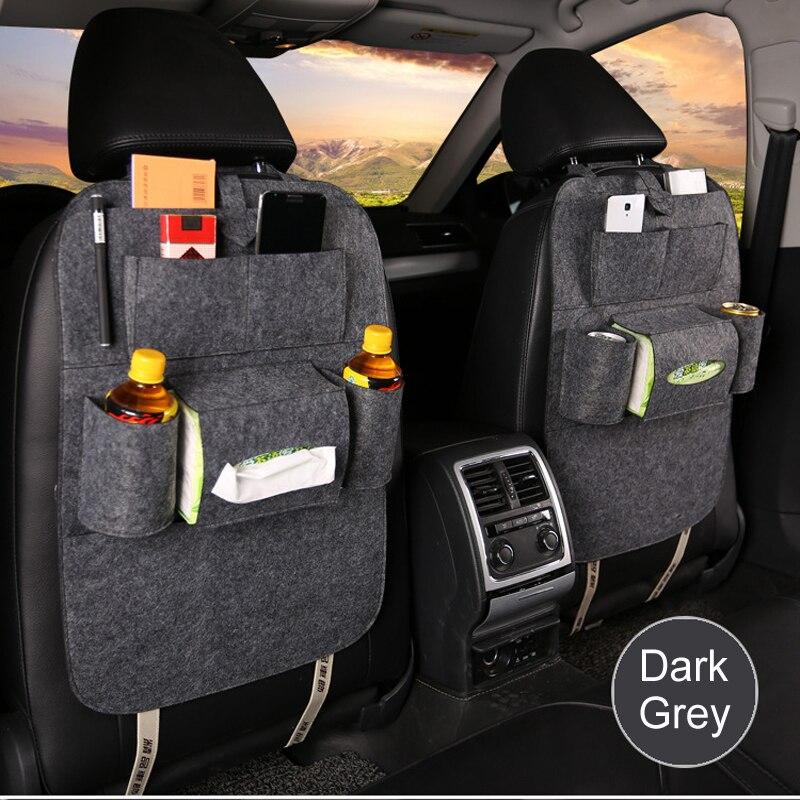 Kind-Hearted 1x Seat Storage Bag Hanging Bags Car Storage Box For Hyundai Solaris Accent I30 Ix35 I20 Elantra Santa Fe Tucson Getz