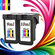 2 шт PG545 CL546 XL картриджи PG 545 CL 546 подходит для Canon IP 2850/MX495/ MG2950/MG2550/MG2450 принтеры(China)