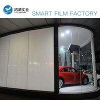 760mm x 1035mm White Smart Film PDLC Smart Glass Film Switchable Privacy Film Starter Kit
