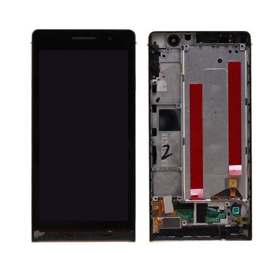 Lcd Display with Touch Screen Digitizer+frame assembly for huawei ascend p6 assembly free shipping lowest price black color 2013 new for iphone 5 lcd with touch screen digitizer assembly free shipping lowest price dhl