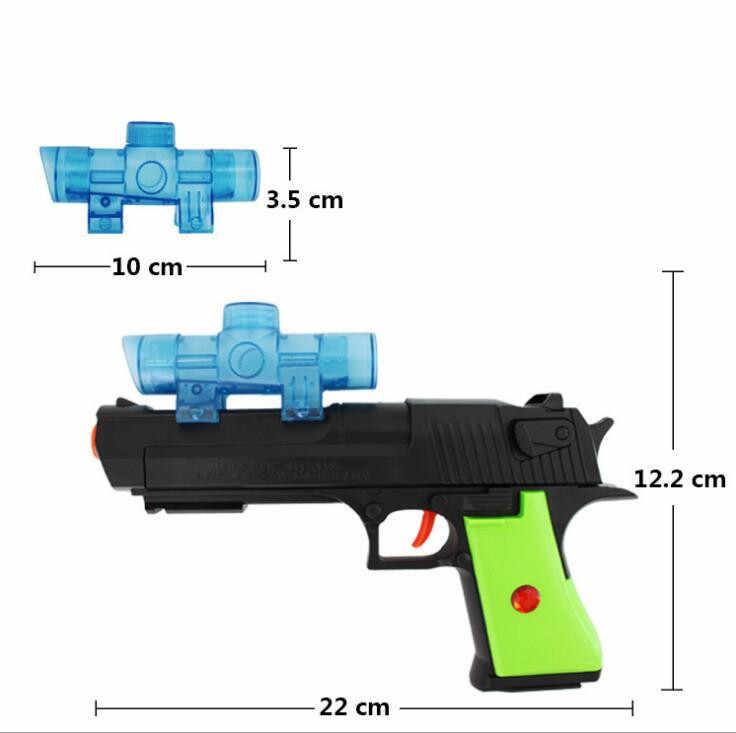 2017fun дети игрушечный пистолет Пейнтбол водяной пистолет Пластик воздуха мягкий пистолет Мягкие пули Снайпер orbeez Игрушечные лошадки для детей подарки на день рождения