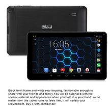"IRULU EXpro X1Pro 9 ""Tablet PC Quad Core Android 4.4 8 GB GMS Google testado Double Cam Loja Livre Jogo bluetooth Wi-fi Tablet"