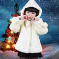Baby Jackets 2015 new princess child girls coat winter coat fur coat Zhongda boy child clothing