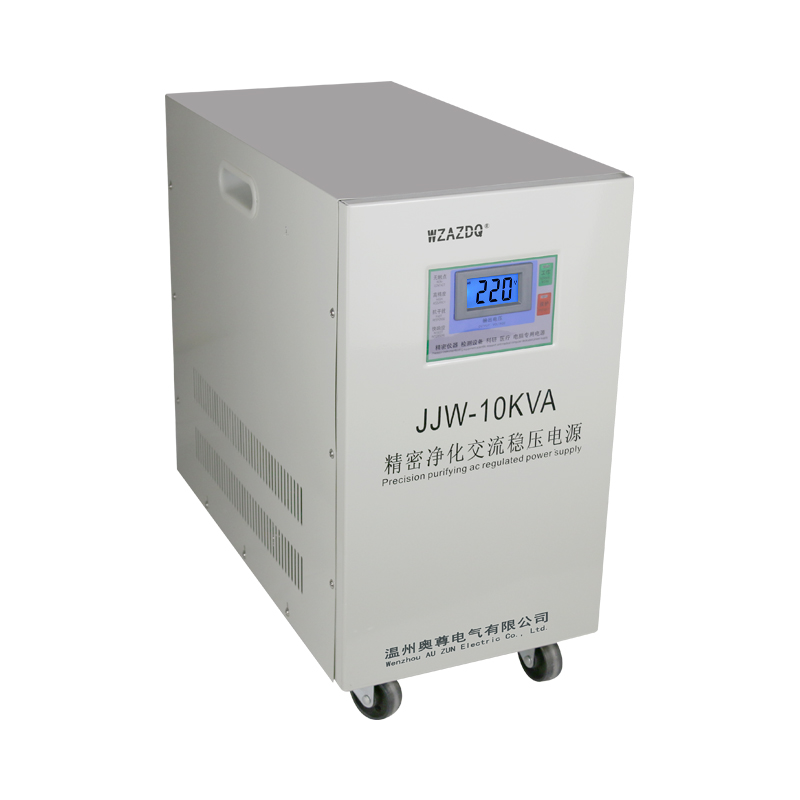 JJW 10KVA single phase ac precision purification stable power filter anti interference high precision voltage stabilizer 10KW in Voltage Regulators Stabilizers from Home Improvement