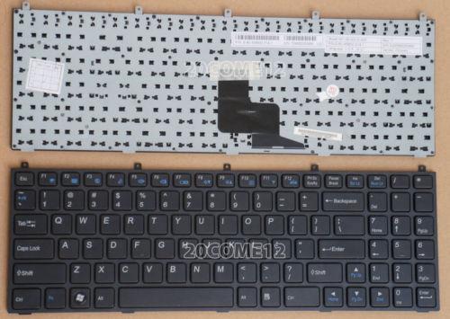 Laptop Keyboard for CLEVO W250ENQ W250HU W250HUQ W251BAQ W251BLQ W251BUQ W251BUQ-C W251BWQ W251BWQ-C W251BZQ W251CUQ Swiss SW Without Frame