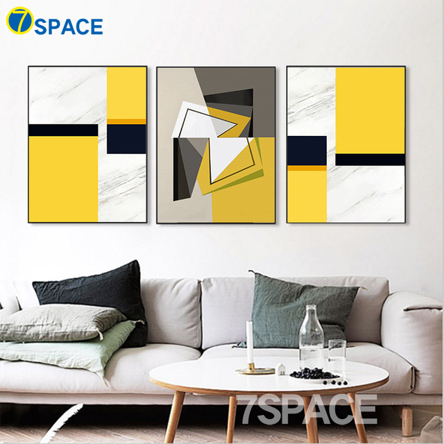 7 Space Modern Wall Art Posters And Prints Abstract Creative ...