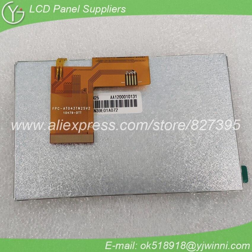 4.3 480*272 a-si TFT-lcd panel AT043TN25 V.1 4.3 480*272 a-si TFT-lcd panel AT043TN25 V.1