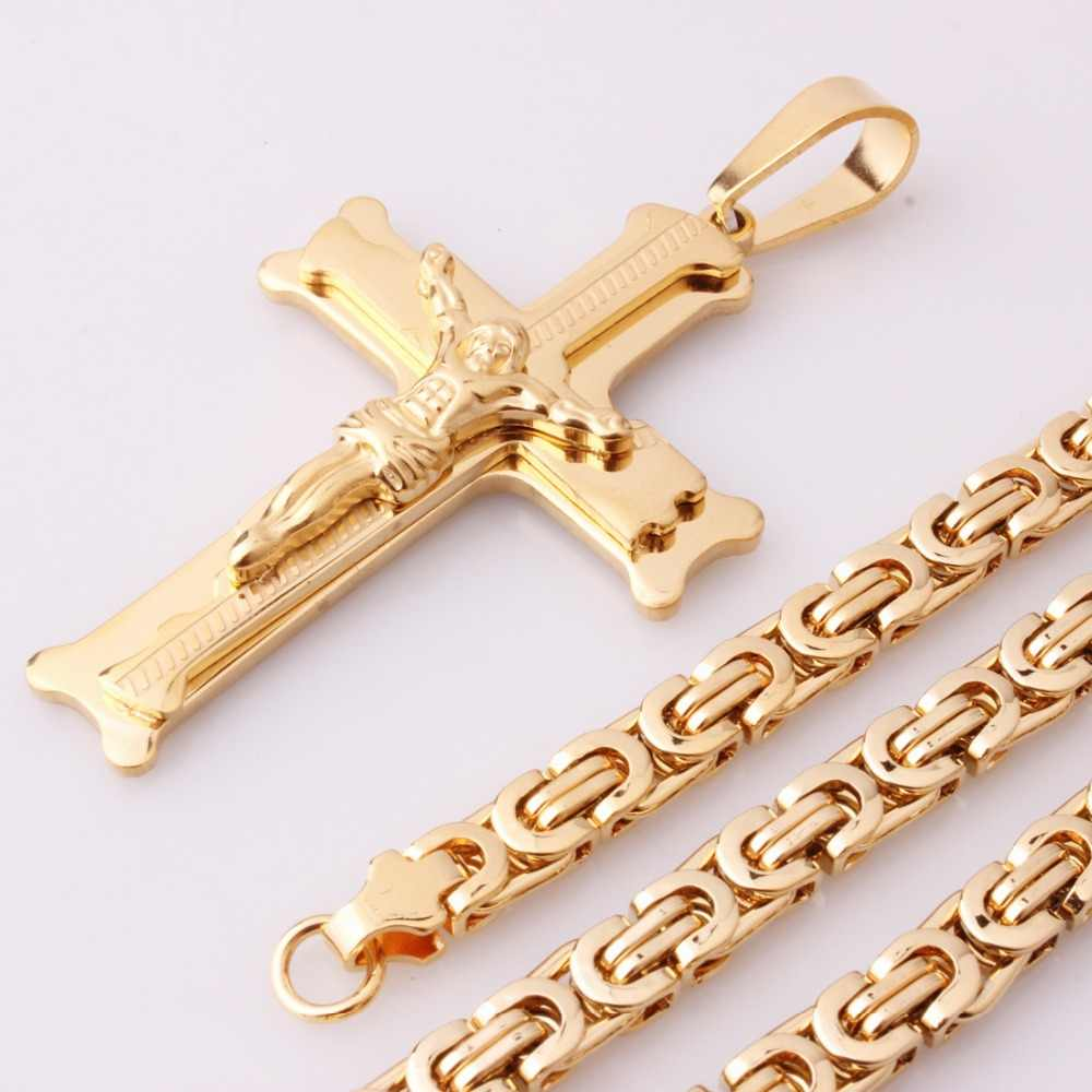 Картинки золотых цепей с крестами