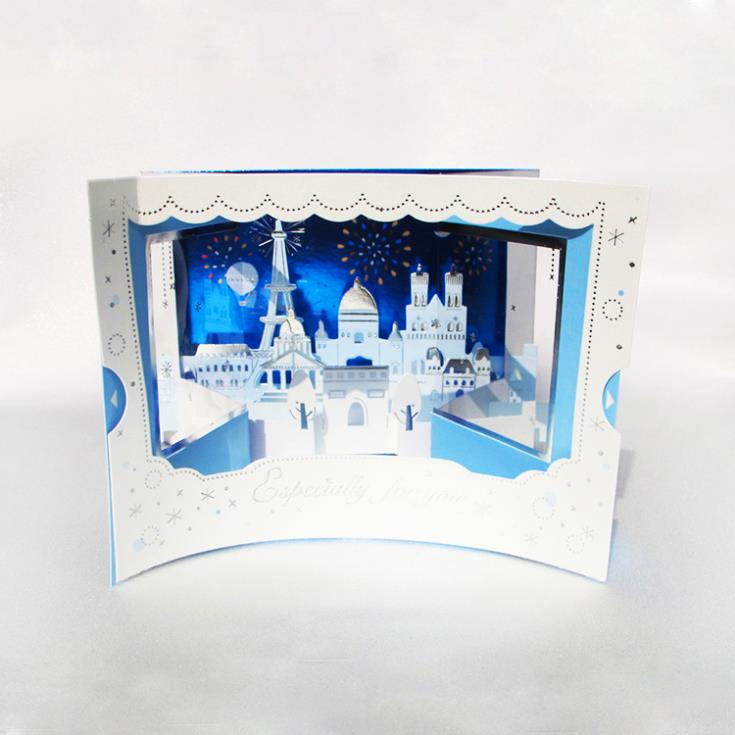 Himeji Castle, 3d origami - OrigamiArt.Us   735x735