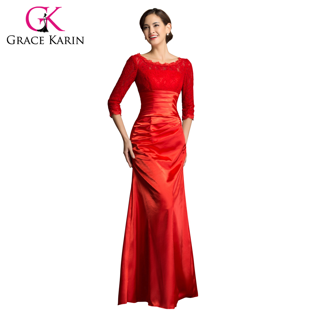 Popular Long Red Evening Dresses-Buy Cheap Long Red Evening ...