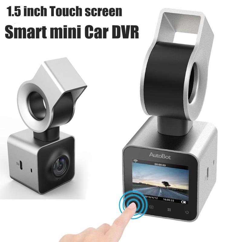 AutoBot G Mini Car DVR with LCD screen Dashcam car Video Recorder Novatek 96658 Night Vision FHD 1080P WDR via free shipping цены онлайн