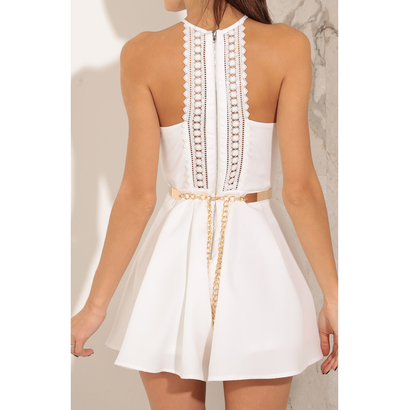 3636647e0cf4 ... Women Jumpsuits EliaCher Brand 2017 Fashion Women Rompers Plus Size  Women Clothing Chic Sexy White Lace jumpers Romper. 47% Off. 🔍 Previous.  Next