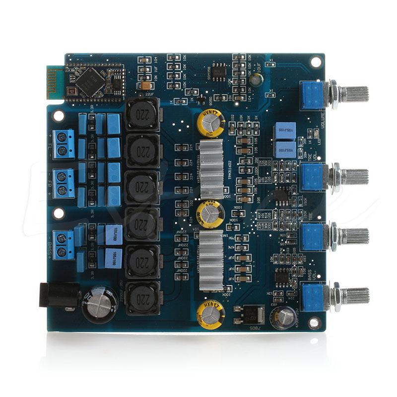C18 New 1pc TPA3116 Class D Amplifier Board Bluetooth 2.1 Amplifier Board 100W+2*50W