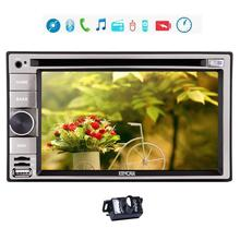 Double Din GPS Navigation in Dash Win 8 UI Vehicle Car DVD Player for FM/AM Radio Receiver with Bluetooth USB SD iPod Car Camera
