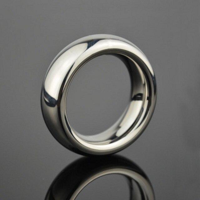 Мужчины Петух кольцо Из Нержавеющей Стали секс игрушки Пенис расширение кольцо 40 мм/45 мм/50 мм (опционально) бал носилки мужской целомудрие устройства