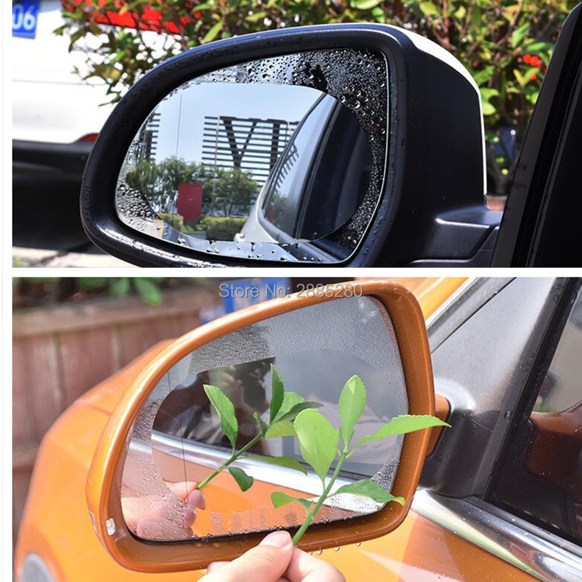Automobiles & Motorcycles Car Rainproof Rearview Mirror Protective Film Auto Accessories For Seat Ibiza Leon Toledo Arosa Alhambra Exeo Supercopa Mii