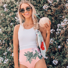 Sexy One Piece Swimsuit 2019 Swimwear Women Monokini Bodysuit Bandage High Waist Swimsuit Female Bathing Suits Summer Beach Wear(China)