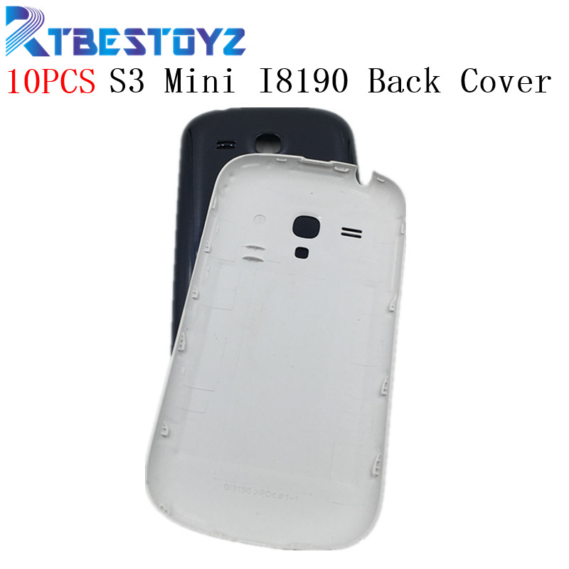 RTBESTOYZ 10PCS/Lot <font><b>Back</b></font> Cover For Samsung S3 Mini Door Housing For Samsung Galaxy S3 Mini <font><b>I8190</b></font> <font><b>Battery</b></font> <font><b>Back</b></font> Cover Rear Case image
