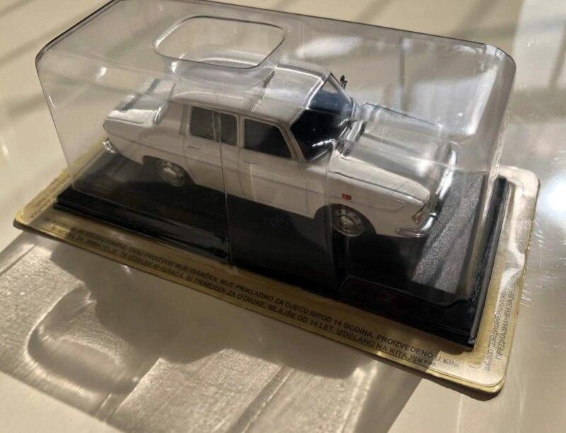 ixo-ba57 Renault 10 major car miniature collection-r10 1//43
