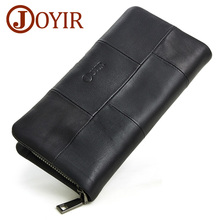 Фотография JOYIR New Male Wallet Genuine Leather Purse Men
