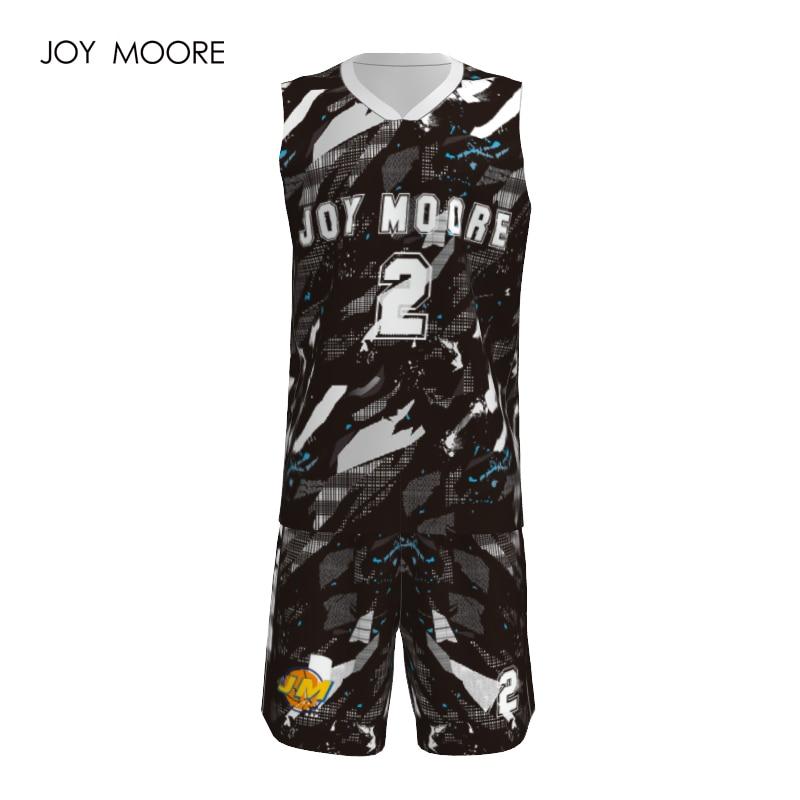 JOY MOORE Men s basketball jersey custom muti colors basketball ... 992ca16e3