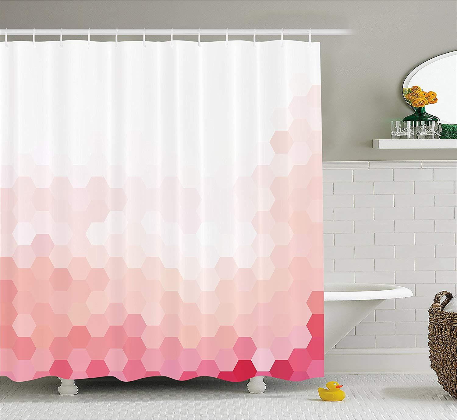 Cherry Blossoms Mt Fuji Shower Curtain Liner Waterproof