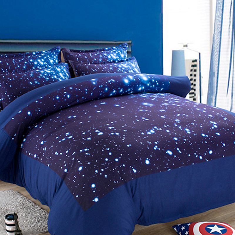 Online buy wholesale space bedding from china space for Outer space bedding