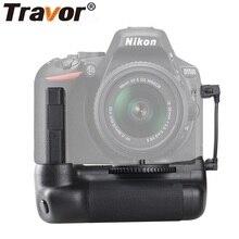 Travor вертикальный держатель батарейного отсека для камеры Nikon DSLR D5500 D5600 ручка для камеры работает с аккумулятором EN-EL14A