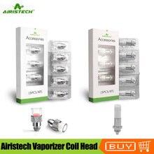 オリジナル Airistech 気化器コイルヘッド Q1 Dip Q2 Dab コア Headbanger Qtip 気化器 Qcell 石英加熱コイル