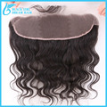 100% virgin brazilian hair lace frontal closure 13x4 with baby hair unprocessed hair ear to ear lace closure