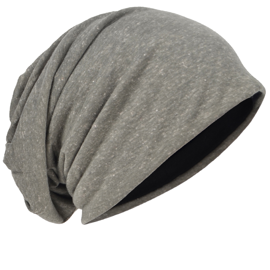f0d9ab97676 HISSHE Jersey Slouchy Beanie Skull Cap Long Baggy Cool Hip hop Skullcap  Soft Thin Summer Hat for Men Women-in Skullies   Beanies from Apparel  Accessories on ...