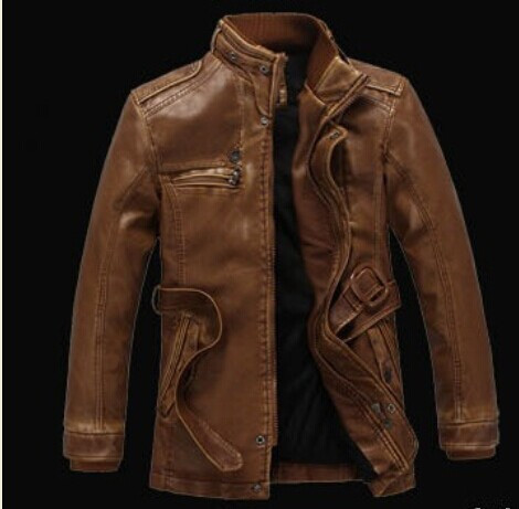 Aliexpress.com : Buy 2016 Leather Jacket Men New Rushed Fashion ...