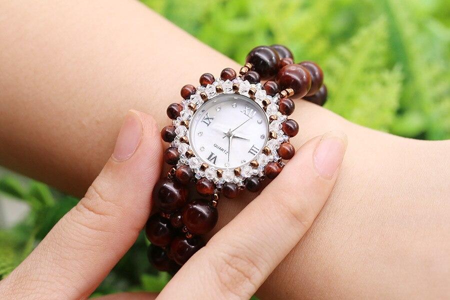 Nova Rodada Dial Clássico Retro Relógio de