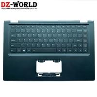 New Original Palmrest Black Upper Case US English Backlit Keyboard for Lenovo Yoga 2 13 Yoga2 13 C Cover 90205193 AP138000610