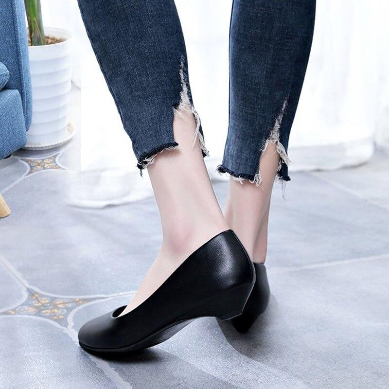 2018 new seasons shallow mouth fashion ladies single shoes walking shoes B5F1-B5F62018 new seasons shallow mouth fashion ladies single shoes walking shoes B5F1-B5F6