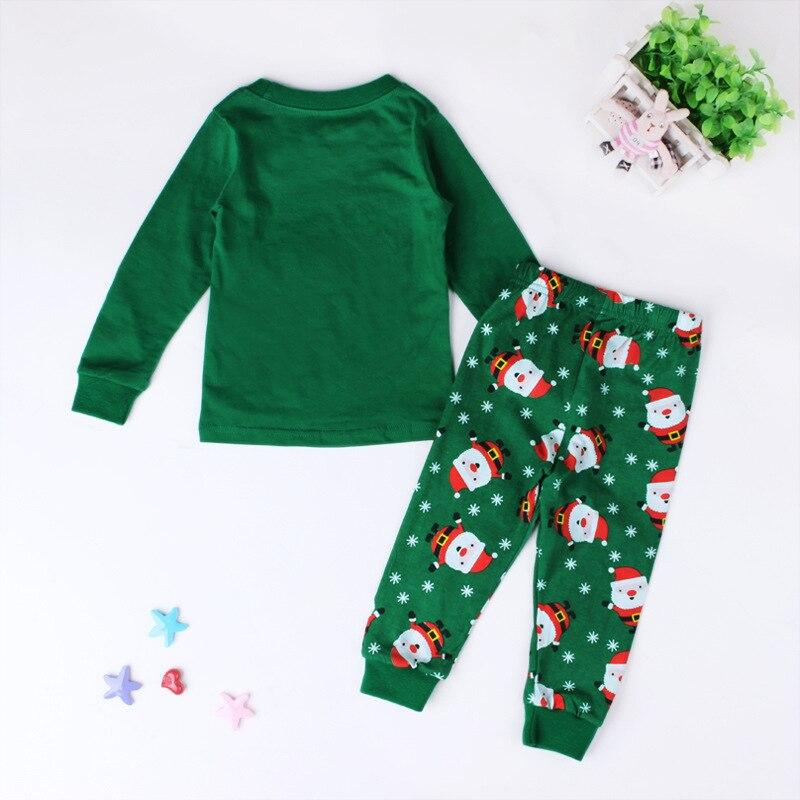 2 unids / set Nuevos niños niños y niñas traje de pijamas de - Ropa de ninos - foto 3