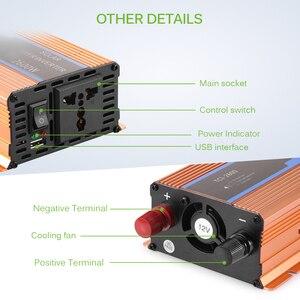 Image 5 - Onever Auto inverter 2600 w DC 12 v a AC 220 v Inverter di Potenza del Convertitore Del Caricatore Robusto e Durevole Del Veicolo interruttore di Alimentazione