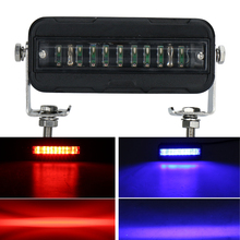27W LED Indicator Light for Forklift Warehouse Danger Zone Warning Lamp Safety Caution Red Blue