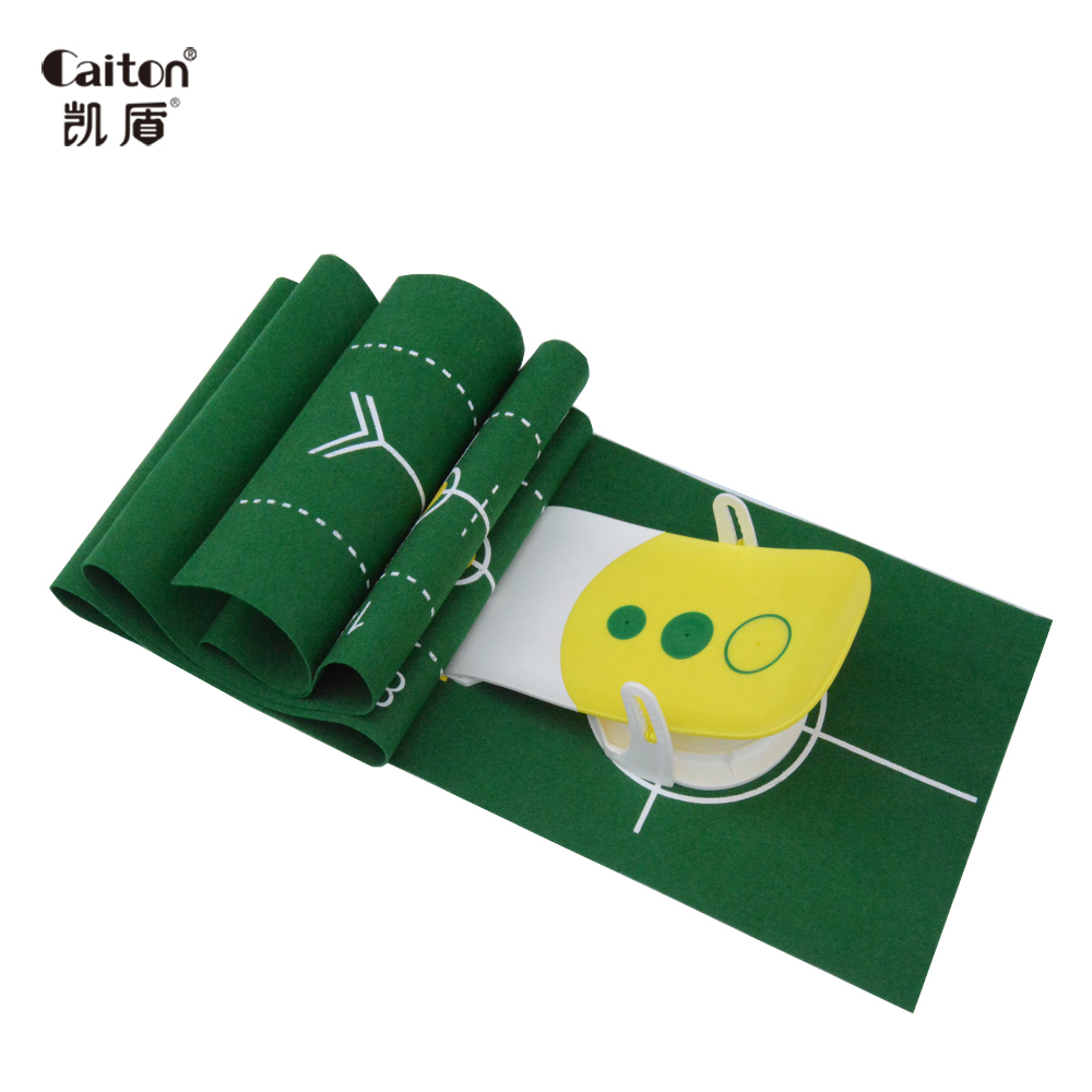 Image 3 - Caiton 2017 new fun Precision Golf  putting trainer golf putting green Indoor sports golf putter practice Golf training aids-in Golf Training Aids from Sports & Entertainment