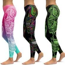 Domidofa Printing Yoga Trousers Bodybuilding Pants leggins sport femme women fitness leggings clothing