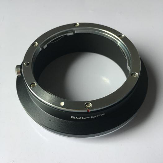 GABALE For EOS-GFX Adapter For Canon EF Mount Lens to Fujifilm GFX Medium Format Camera commlite cm ef mft electronic aperture control lens adapter for ef ef s lens m4 3 camera