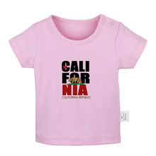 Famous Call For NIA USA flag Call For FNV NCR Flag white Newborn Baby T-shirts Toddler Graphic Solid color Short sleeve Tee Tops(China)