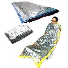 Уличный спальный мешок для чрезвычайных ситуаций водонепроницаемое