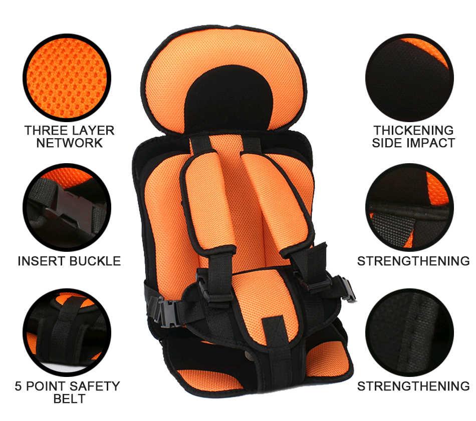 Nova Ajustável Almofada Do Pescoço Apoio de Cabeça Alívio Criança Segura Potável Crianças Cadeira Atualizado Versão Espessamento Esponja Esteira Do Assento Do Bebê