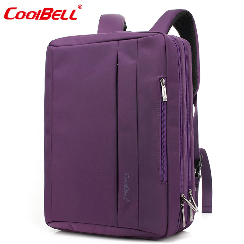 CoolBELL Multi-Functional Backpack 2018 New Arrival 15.6 Inch Convertible Laptop Computer Backpacks FashionTravel Notebook Bag цена