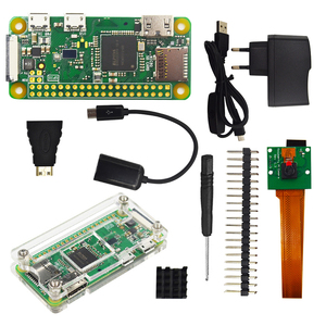 Image 3 - Raspberry Pi Zero W Starter Kit+ Acrylic Case + Heat Sink +2 x 20 pin GPIO Header better than Raspberry Pi Zero 1.3